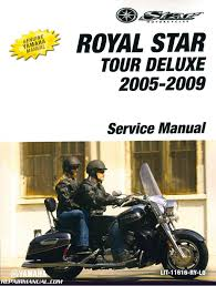 2005 2009 yamaha xvz13 royal star tour deluxe motorcycle service