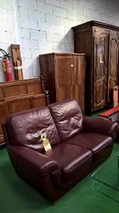 canap cuir bordeaux 13042 canape tissu ecossais pouf 250 occasion mobilier