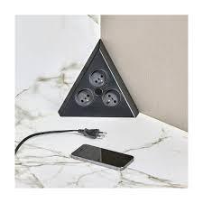 multiprise d angle cuisine multiprise d angle prises electriques accessoires cuisines