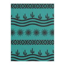southwestern designs southwest fleece blankets zazzle