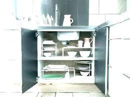 panier coulissant pour meuble de cuisine amenagement placard cuisine coulissant interieur panier coulissant