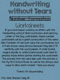 handwriting without tears number worksheets by ms katie teacher lady
