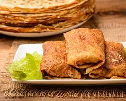 cuisine az crepes recette crêpes fourrées aux poires pommes bananes et flambées au