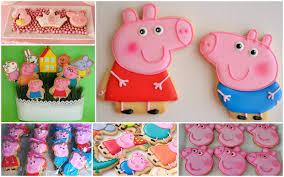 peppa pig birthday ideas peppa pig birthday sugar cookies 1 dozen by lapetitecookie on etsy