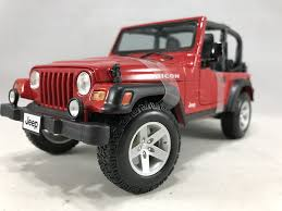 jeep bandit stock amazon com 2004 jeep wrangler rubicon diecast model car 1 18