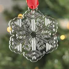 acrylic snowflake ornament ornaments and