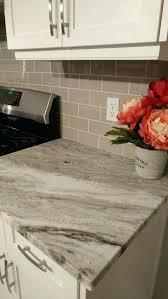 tile backsplashes with granite countertops kitchen stunning