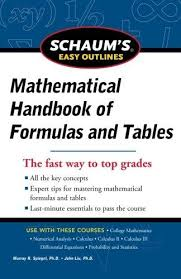 easy outlines 9780071777476 schaum s easy outline of mathematical handbook of
