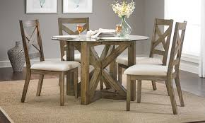 hampton cottage solid acacia u0026 glass dining set haynes furniture