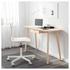 Ikea Small Desk Table Lisabo Desk Ash Veneer 118x45 Cm Ikea