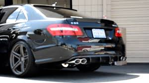 mercedes s69 amg w212 e63 amg with meisterschaft gtc exhaust system