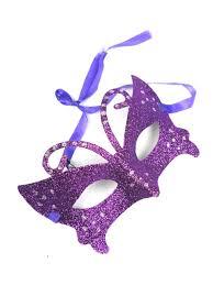 purple masquerade mask purple glitter masquerade masks with ribbon tie