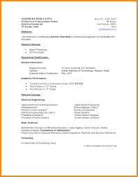 sample graduate resume undergraduate sample resume booking officer sample resume high resume sample for undergraduate students frizzigame undergraduate student curriculum vitae sample student resume template resume sample
