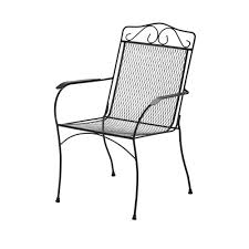 Outdoor Dining Chair Hampton Bay Nantucket Metal Outdoor Dining Chair 6990700 2005157