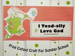 church house collection blog frog crafts for sunday