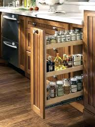 kitchen cabinet slide out how to build a vertical pull out cabinet pull out trash can in a