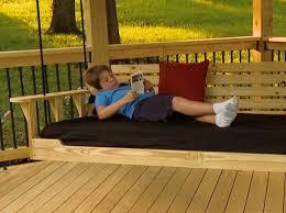 porch bed swing u2013 shop project