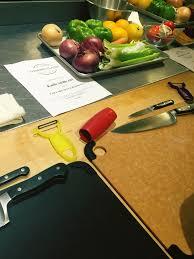 sur la table cutting board knife skills course at sur la table aleene webber tries