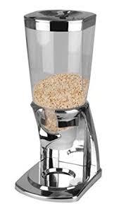 balvi 23543 distributeur a cereales couleur chrome en abs