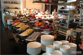 Restaurant Open Kitchen Design by Fruits And Open Kitchen Breakfast At Viu Restaurant St Regis
