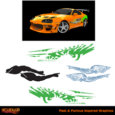fast and furious 1 cars fast and furious inspired decals 1 hellbound graphics