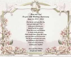 65 wedding anniversary 10th wedding anniversary poems personalized 40th wedding