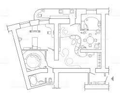 Icon Floor Plan by Floor Plan Top View Plans Standard Home Furniture Symbols Set Used