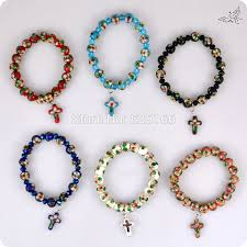 rosary bead bracelet aliexpress buy 48pc lot cloisonne rosary bracelets