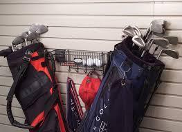 Garage Golf Bag Organizer - 18 best garage cabinets u0026 flooring images on pinterest garage