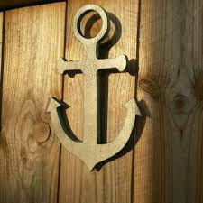 wooden anchor wall shop wooden anchor decoration on wanelo