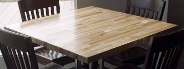 Cleaning A Wooden Dining Table by Wood Dining Table Tops John Boos Butcher Block
