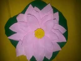 Lotus Blossom Origami - lotus flower paper craft craft flowers how to fold an origami