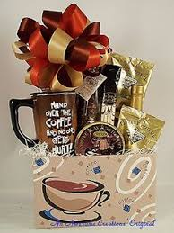 coffee gift basket coffee time gift basket cakes
