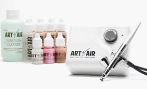 professional airbrush makeup system up to 40 on airbrush makeup system 13 pc groupon goods