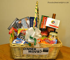 gift baskets for couples dinner a gift basket dinners and gift