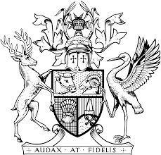 file coat of arms of queensland b u0026w svg wikimedia commons