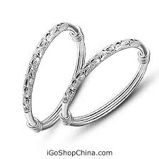 baby silver rings images Silver bangles baby online in china jewelry store jpg