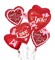 valentines ballons s helium balloon worle florists free local delivery