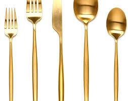 gold flatware rental flatware gold flatware rental michigan sets for 12 bulk buy gold