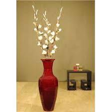 Bamboo Wall Vase Vases Design Ideas Floor Vase You Will Love White Floor Vase
