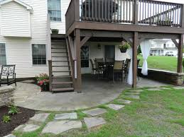 Deck Patio Cover Inspirational Under Deck Patio Ideas 20 For Your Diy Wood Patio