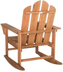 Wooden Rocking Chair Outdoor Outdoor Rocking Chair Patio Furniture Safavieh Com