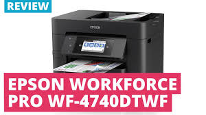 epson workforce pro wf 4740dtwf a4 colour multifunction inkjet
