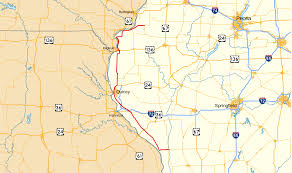 Map Of Springfield Illinois by Illinois Route 96 Wikipedia