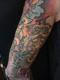 nautical star half sleeve tattoo designs all about tattoo