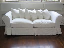 White Sofa Pinterest by White Fabric Couch Covers Slipcovers Pinterest White Fabrics