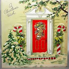 50 u0027s red front door giant candy cane decorations glitter vintage