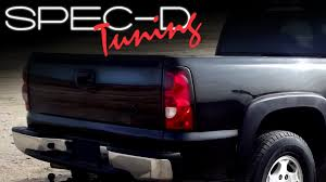 2006 silverado tail light assembly specdtuning installation video 2003 2006 chevy silverado altezza