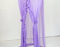 Purple Bed Canopy Crib Canopy Etsy