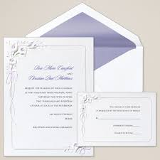 wedding invitations canada calla lilies wedding invitation floral wedding invitations